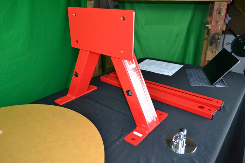 Balazs Boxing i-Box Speed Bag Platform in Knockout Red