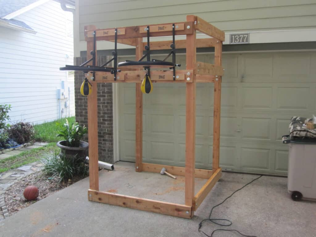 Speed Bag Labs Rack for Platform full view 2