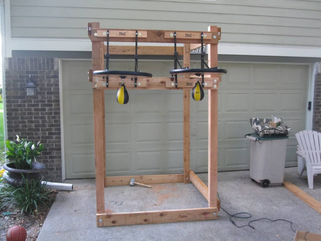Speed Bag Labs Rack for Platform full view 3